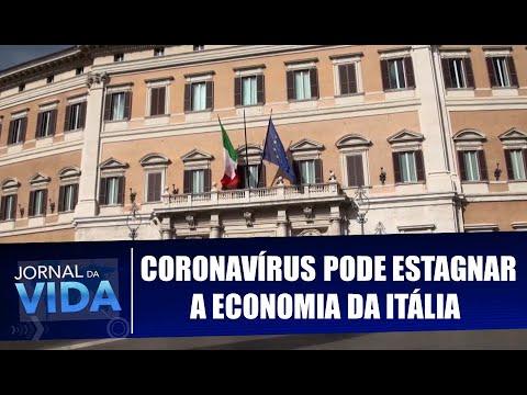 Coronavírus pode estagnar a economia da Itália - Vida ao Vivo - 12/03/20
