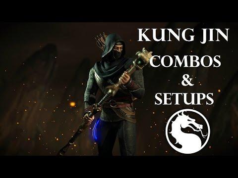 MKX - Kung Jin (Ancestral) Combos & Setups (32%-88%)