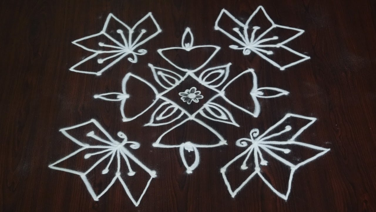 pulli kolam designs 7 dropwall today