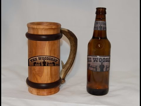 How To Make A Beer Mug DIY Woodturning Projects