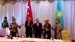 مفاجأة للرئيس اردوغان عند زيارته كازاخستان