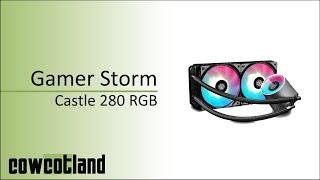 [Cowcot TV] Présentation kit AIO Gamer Storm Castle 280 RGB