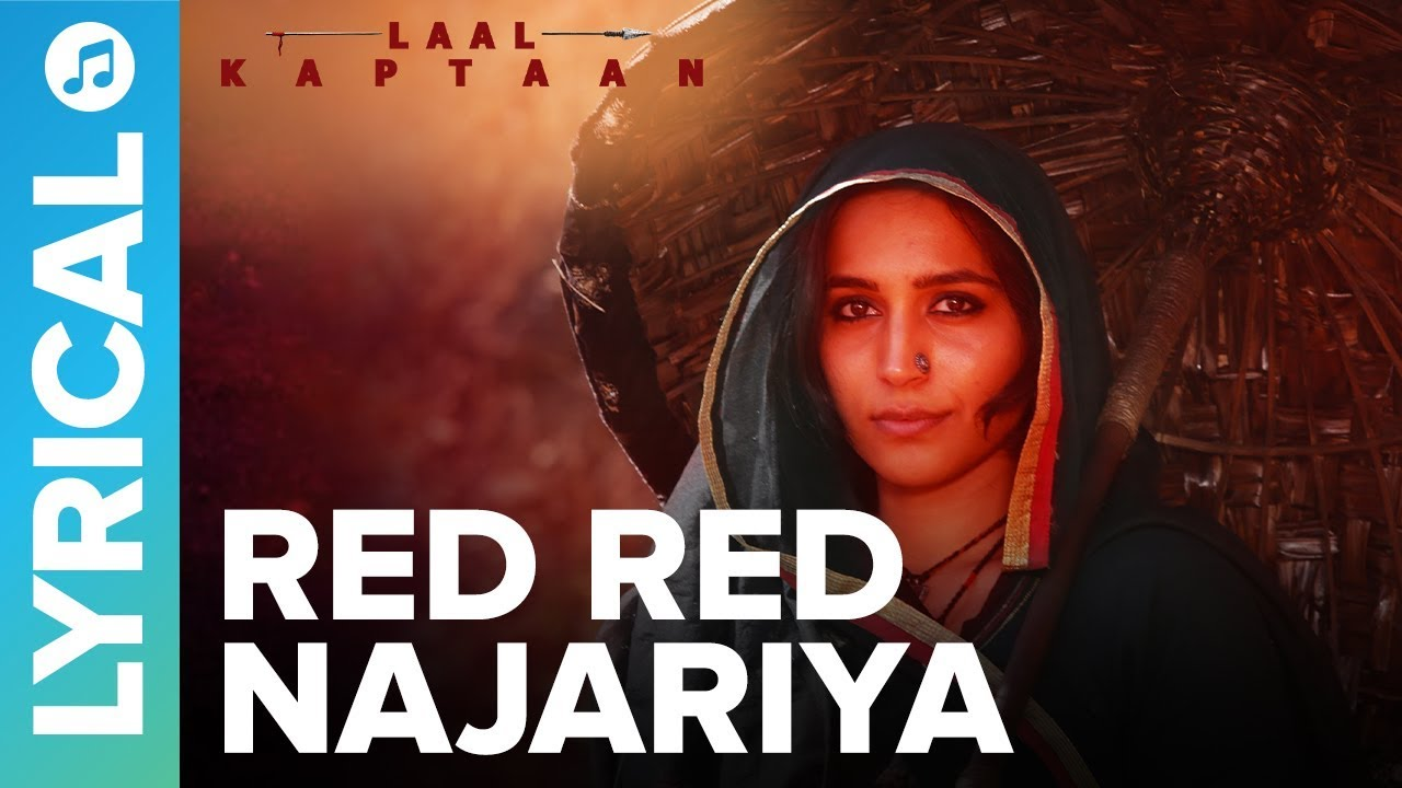 Red Red Najariya - Lyrical Video Song | Shreya Ghoshal | Saif Ali Khan | Laal Kaptaan