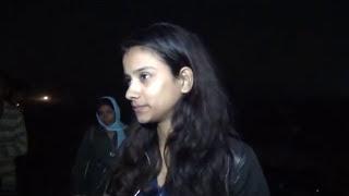 रात में सड़कों पर दिखी महिला पुलिस , ऑटो चालक सिखाया सबक