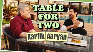 Table For Two: Kartik Aaryan with Rajeev Masand I Love Aaj Kal 2 I Dostana 2