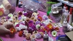 Kreativ Set Blüten von QVC