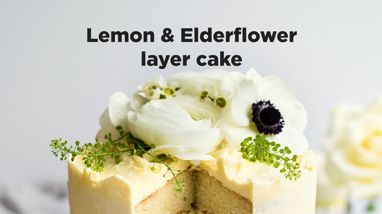 lemon elderflower wedding cake recipe how to make lemon and elderflower cake ao 16797