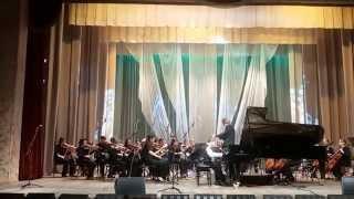 И.С. Бах. Концерт d-moll 3 часть.