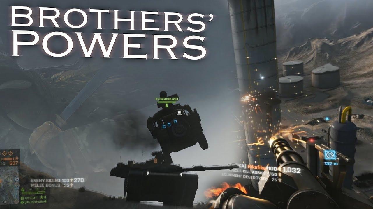 Battlefield 4 brothers