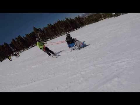 Sit Ski / Black Diamond / American Breckenridge