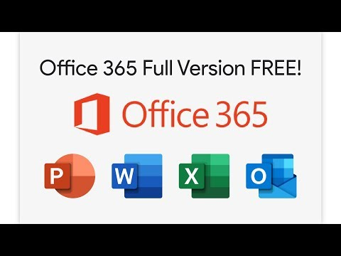 How To Download Microsoft Office 365/2019 Full Version For Free (UPDATED 22/08/2019)