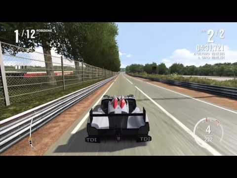 Forza Motorsport 4 Gameplay - La Sarthe - Audi R15 TDI