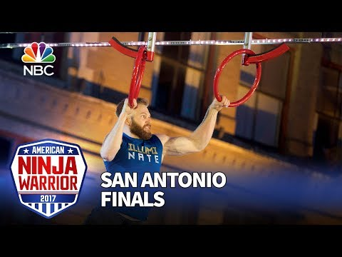 Nate Burkhalter at the San Antonio City Finals - American Ninja Warrior 2017