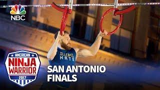 Nate Burkhalter at the San Antonio City Finals - American Ninja Warrior 2017