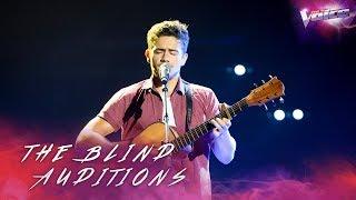 Blind Audition: Oskar Proy sings Asturias, Patria Querida   The Voice Australia 2018
