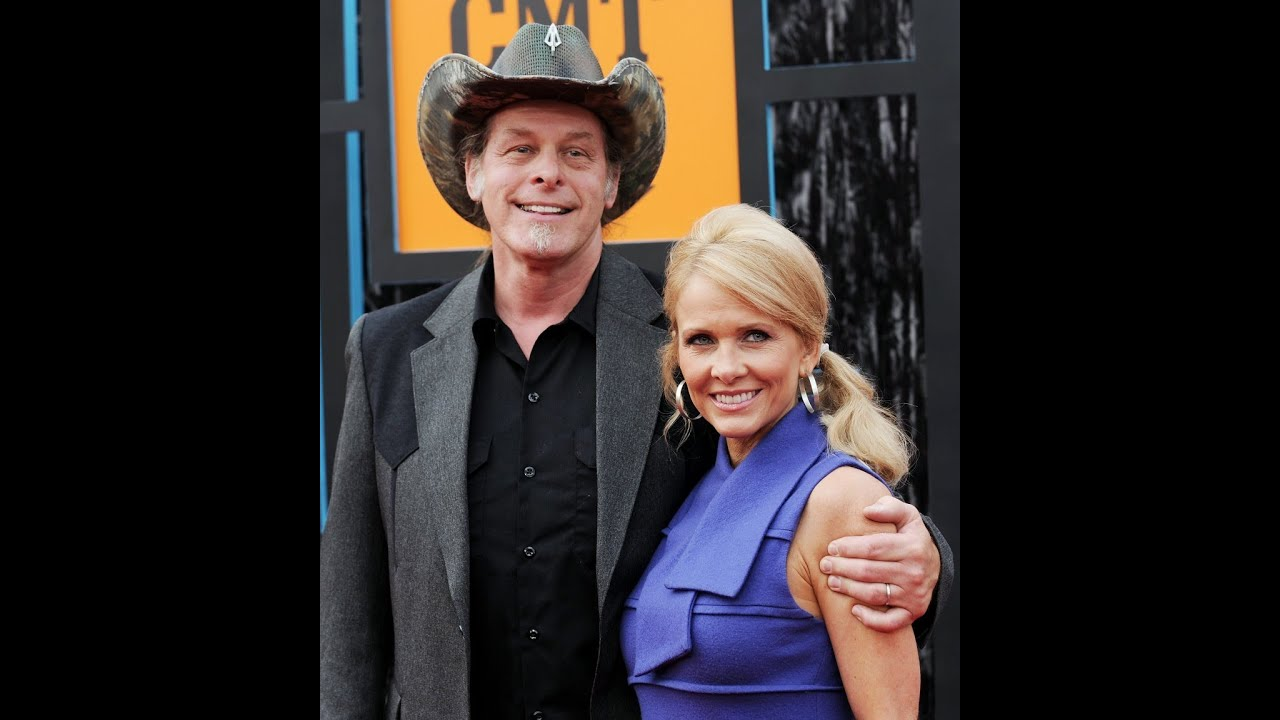 Ted Nugent with beautiful, Wife Shemane Deziel