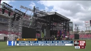 Bollywood awards transform Raymond James Stadium