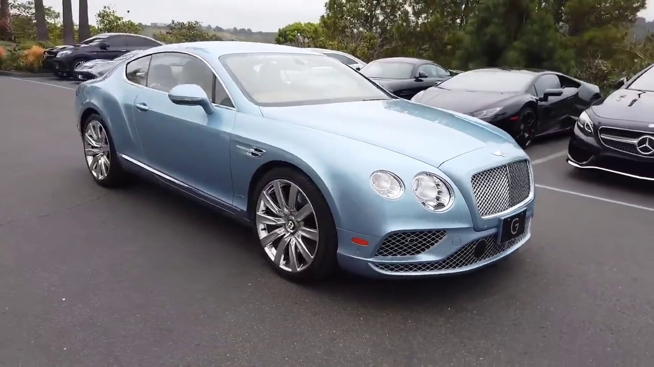 2016 Bentley Continental Gt W12 For Sale 1442uc