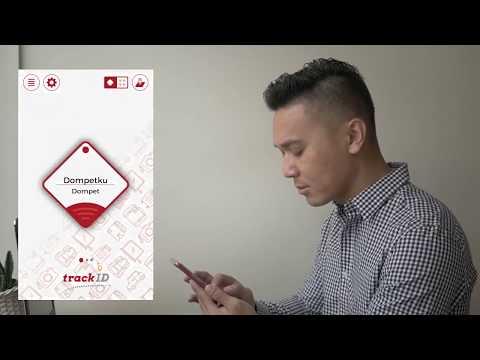 trackID Bluetooth tracker and Apps - Untuk barang sehari-hari agar tidak hilang