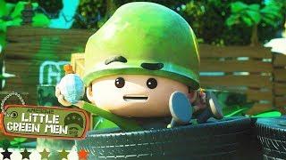 Awesome Little Green Men | A Few Dumb Men | Episode 2 Compilation | Cartoons for Children