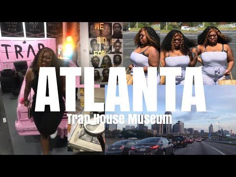 ATLANTA TRIP | TRAVEL VLOG PART 2 | Trap Music Museum