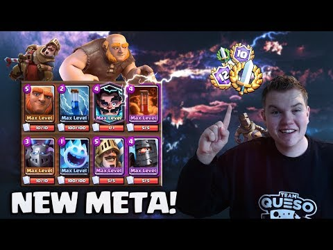 NEW META DECK! Giant Double Prince Beatdown Deck LIVE Grand Challenge Gameplay - Clash Royale