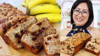 Pão de Banana ou Banana Bread – Delicioso e Fácil
