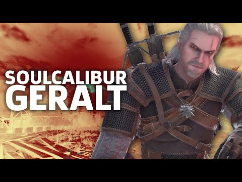 SoulCalibur VI: Geralt Gameplay - E3 2018