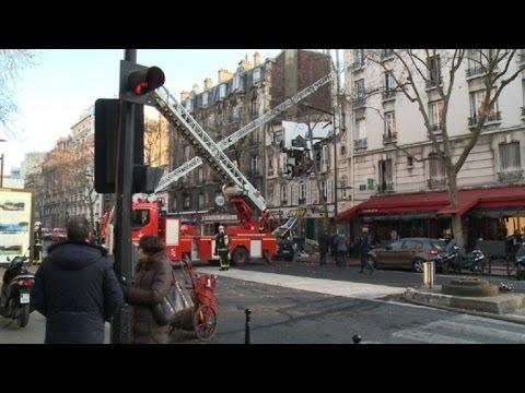 Boulogne-Billancourt: violente explosion a priori due au gaz