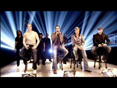 Westlife - The Rose [T4 Popworld 04-11-2006]