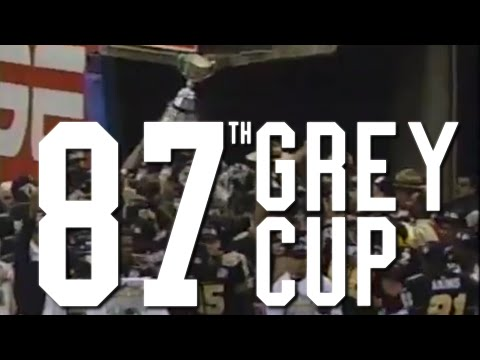 Ticats TV Vault // 1999 Grey Cup