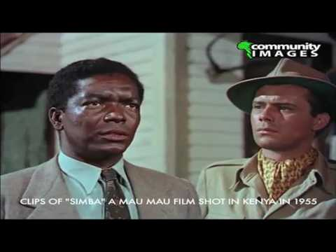"CLIPS FROM ""SIMBA"" A MAUMAU FILM SHOT IN KENYA IN 1955"