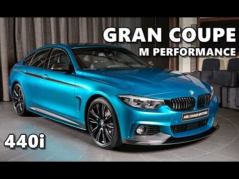 bmw 440i gran coupe m performance snapper rocks blue youtube. Black Bedroom Furniture Sets. Home Design Ideas