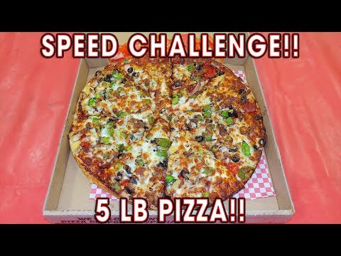 THE ULTIMATE PIZZA CHALLENGE (11 TOPPINGS)