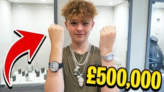 TAKING MY 16 YEAR OLD BROTHER JEWELLERY SHOPPING