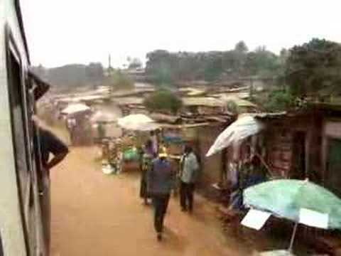 Trip by train in Cameroon