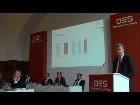 Deutsche EuroShop AG Hauptversammlung 2016