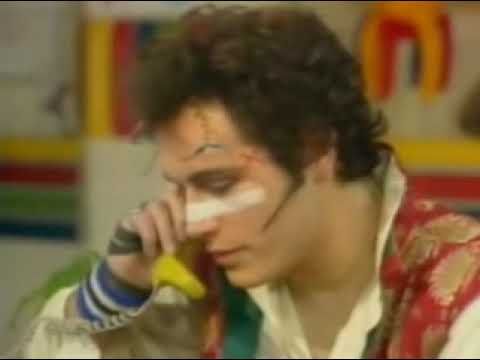Adam Ant Interview Swap Shop 1981
