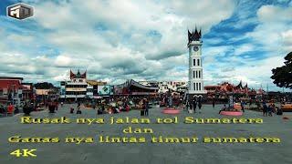 Download lagu Rusak nya jalan Tol Sumatera dan Ganas nya Lintas Timur II Hancur nya lintas tengah Sumatera