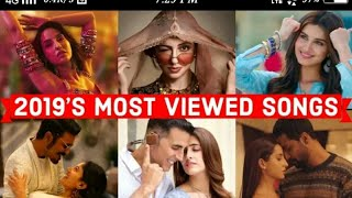 2019 most viewed indian song on YouTube