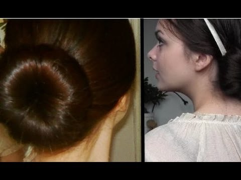 Sock Bun Secret Revealed: Giant Bun & Heat Free Curls!