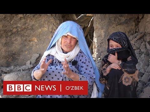 Ҳукумат бомбалари остида 6 жигарбандини йўқотган ўзбек онаси - Афғонистон