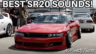 BEST SR20 Sounds Compilation - Turbos, Drifting, and Burnouts