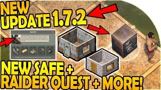 NEW UPDATE 1.7.2 - NEW RAIDER QUEST + SAFE + RAIDING UPDATE- Last Day On Earth Survival 1.7.2 Update