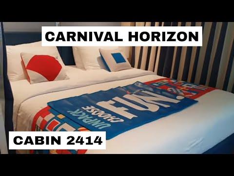 carnival horizon cabin 2455 category fj family harbor deluxe ocean