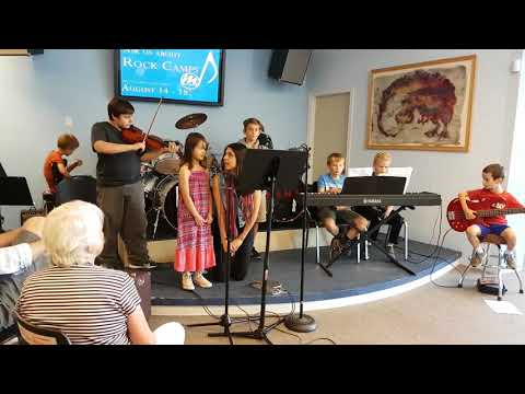 Music Masters Rock Camps 2017 Week Three Part 3/4