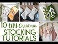 Christmas Stocking Tutorials