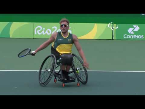 Day 3 morning | Wheelchair Tennis highlights | Rio 2016 Paralympic Games