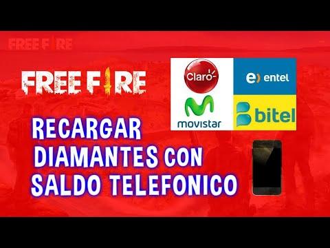 1624c2e32a22 COMO COMPRAR DIAMANTES EN FREE FIRE CON SALDO DE CELULAR DESDE PERÚ PASO POR  PASO