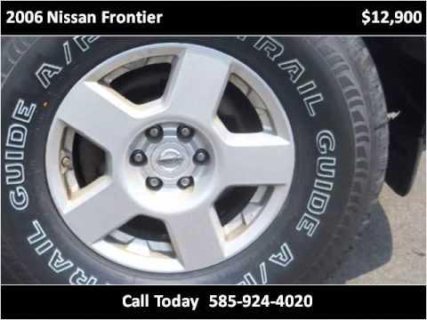 2006 Nissan Frontier Used Cars Farmington Canandaigua